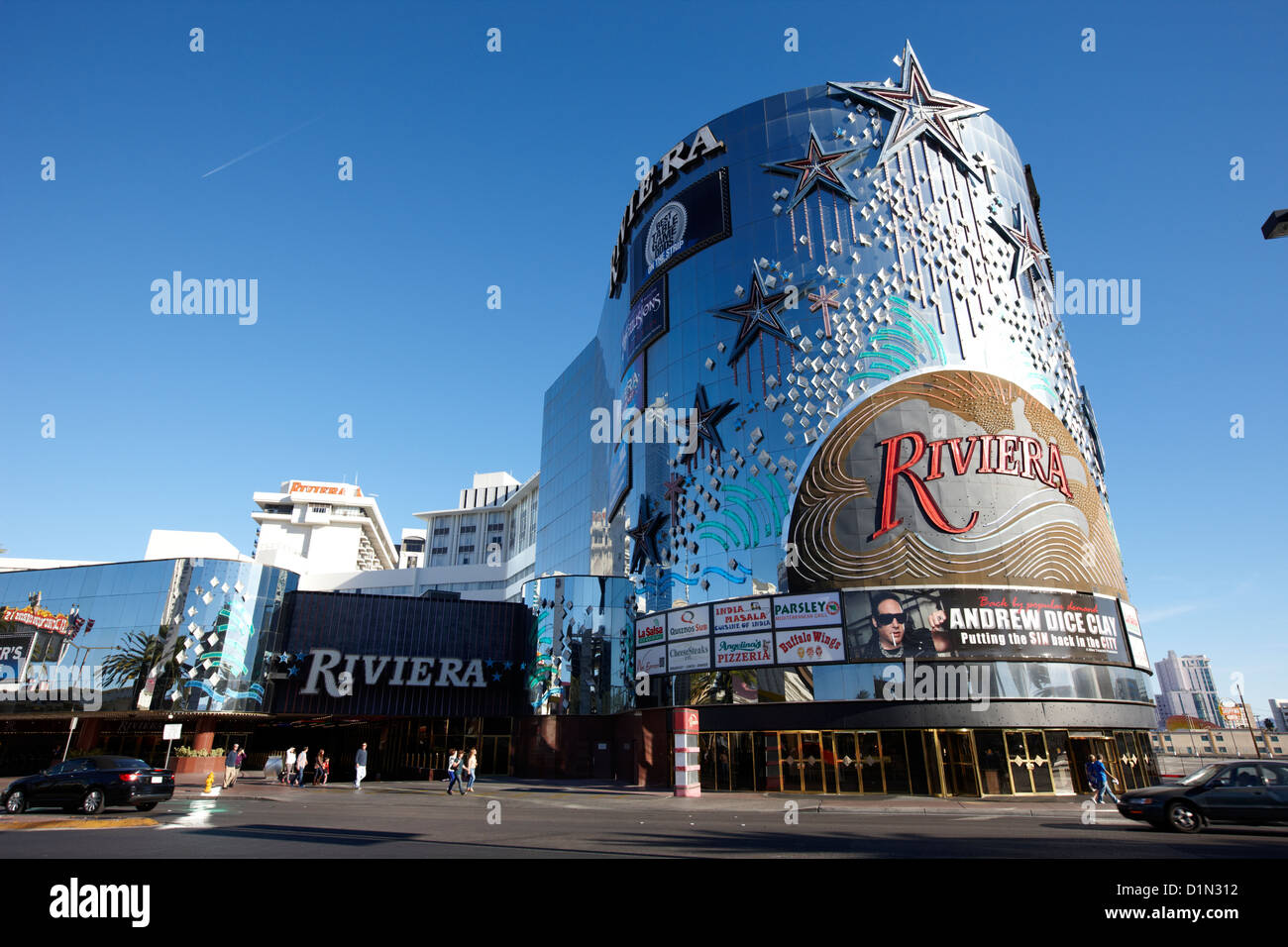 The riviera hotel and casino las vegas nevada usa stock for Riviera resort las vegas