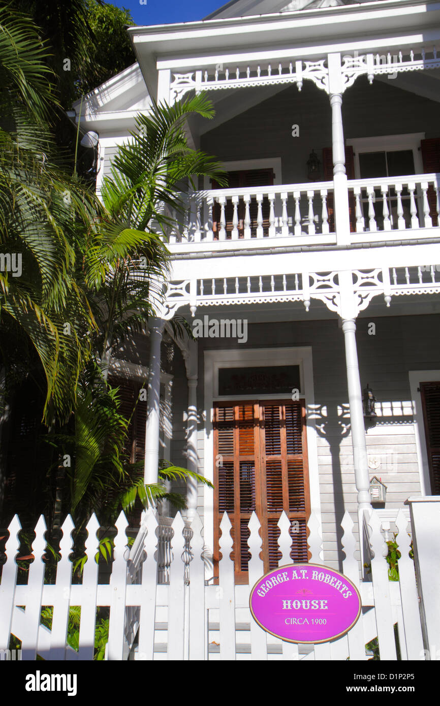 Florida key west florida keys william street george for Plural of balcony