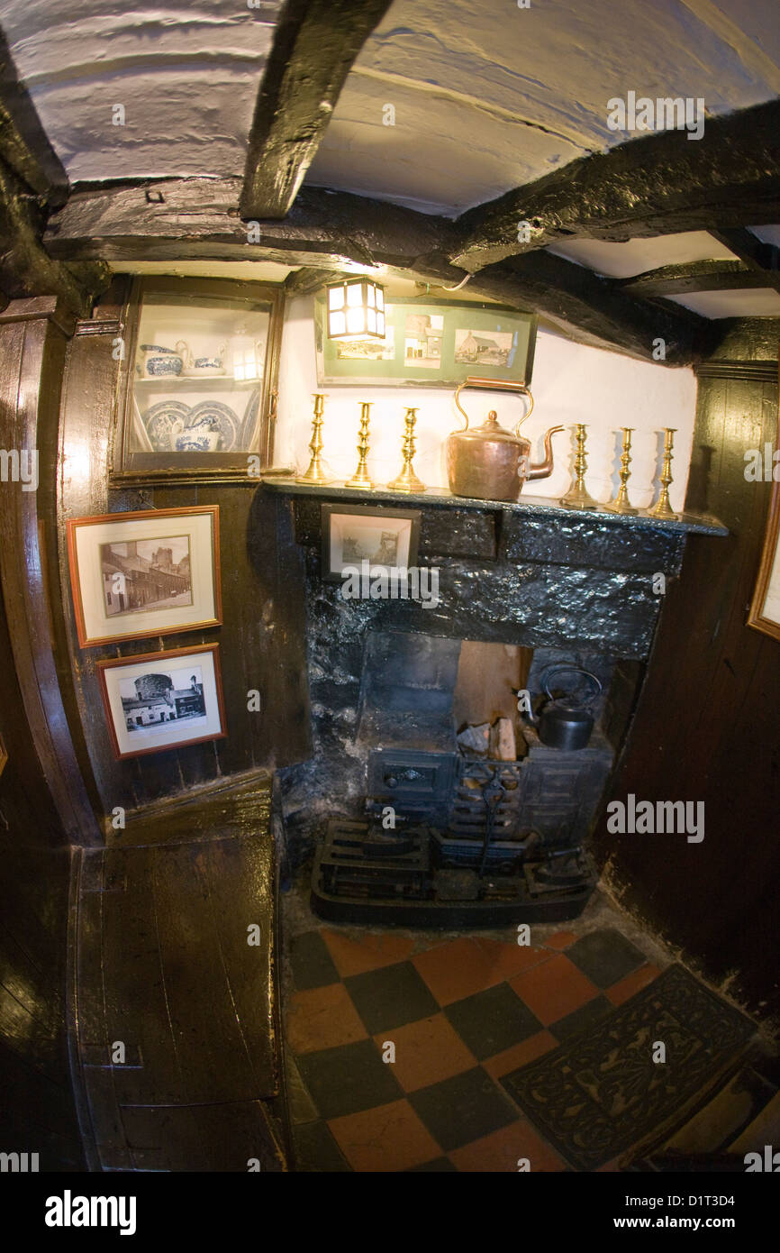 The Interior Of The Smallest House In Great Britain In
