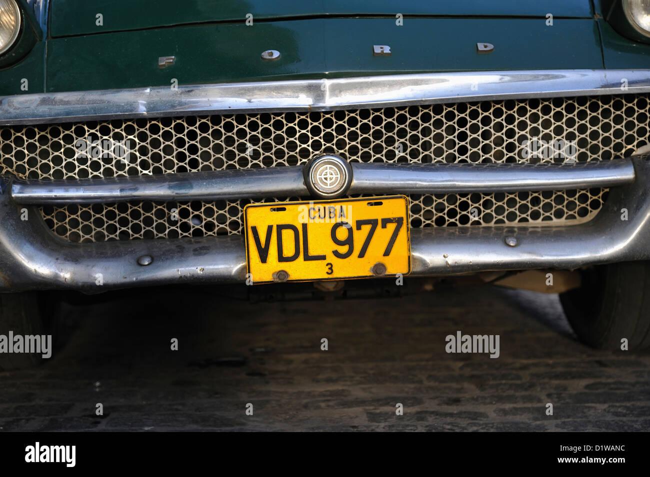 Old car, Santa Clara, Cuba Stock Photo, Royalty Free Image ...