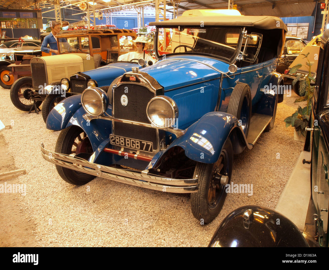 automobile museum reims champagne 1930 willys knight stock photo royalty free image 52821310. Black Bedroom Furniture Sets. Home Design Ideas