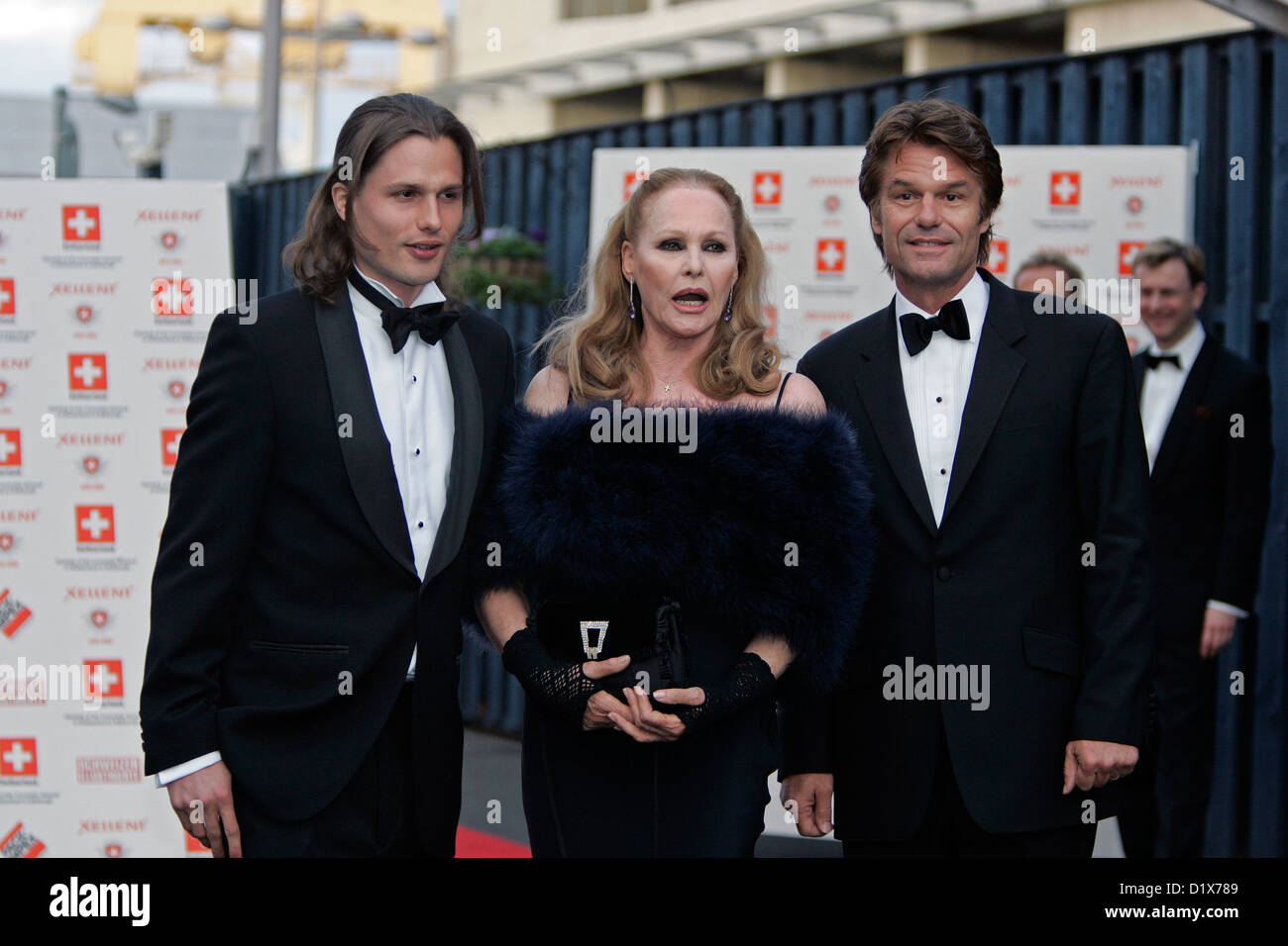 ursula andress with harry hamlin and their son actor
