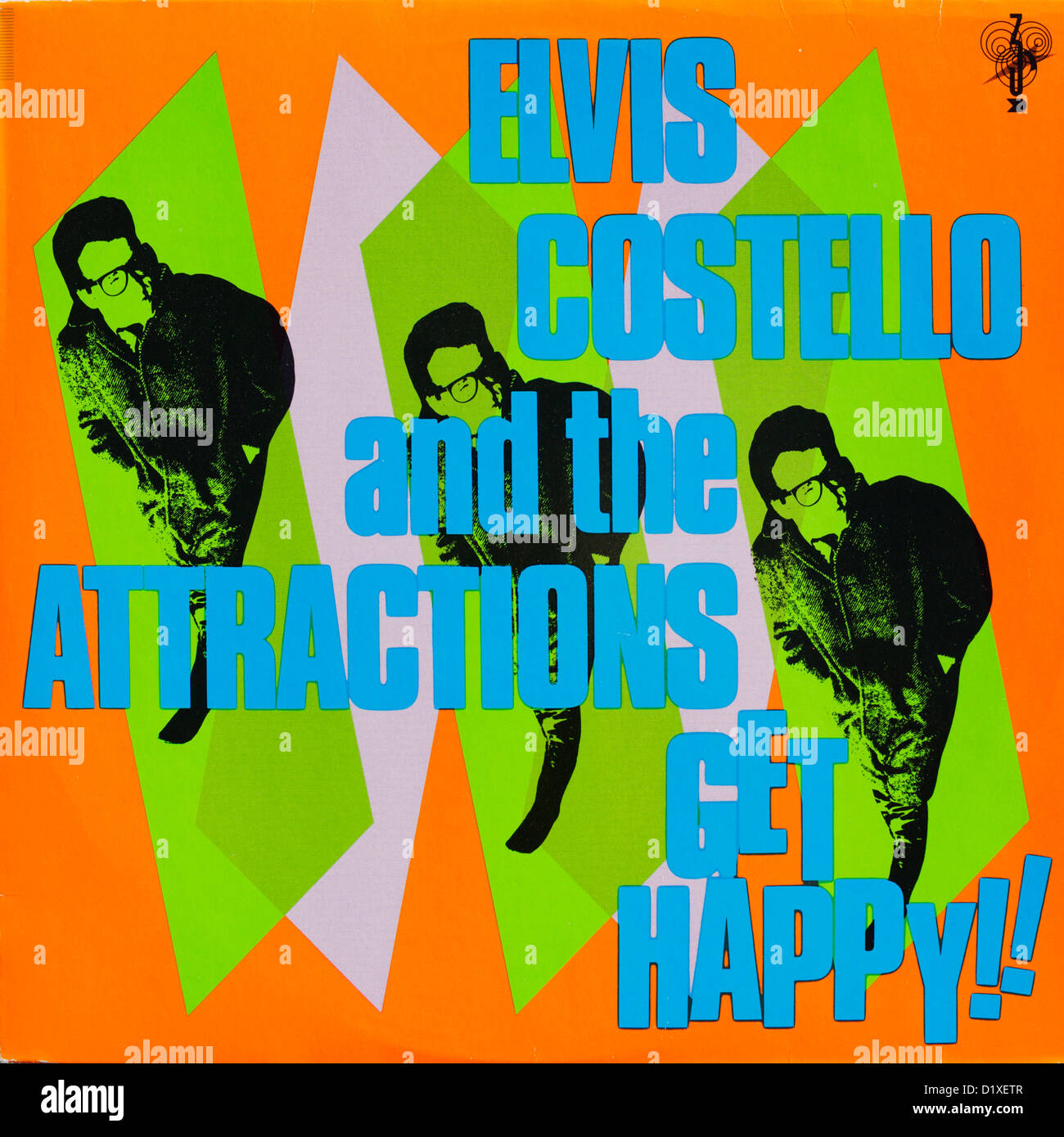 Elvis Costello And The Attractions Record Album Cover