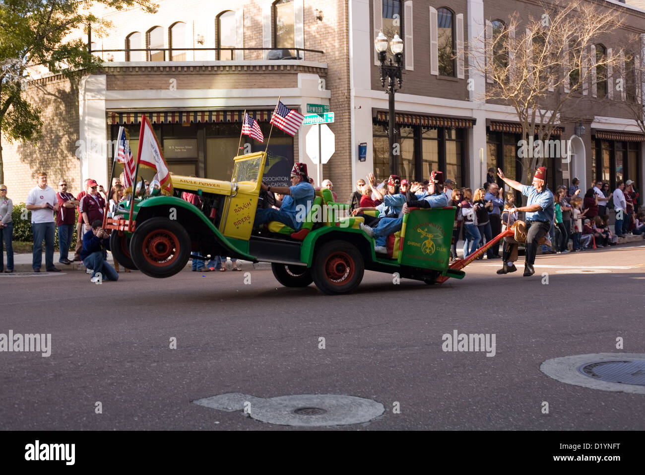 Morocco shriners club in the 2013 gator bowl parade in jacksonville florida december 31