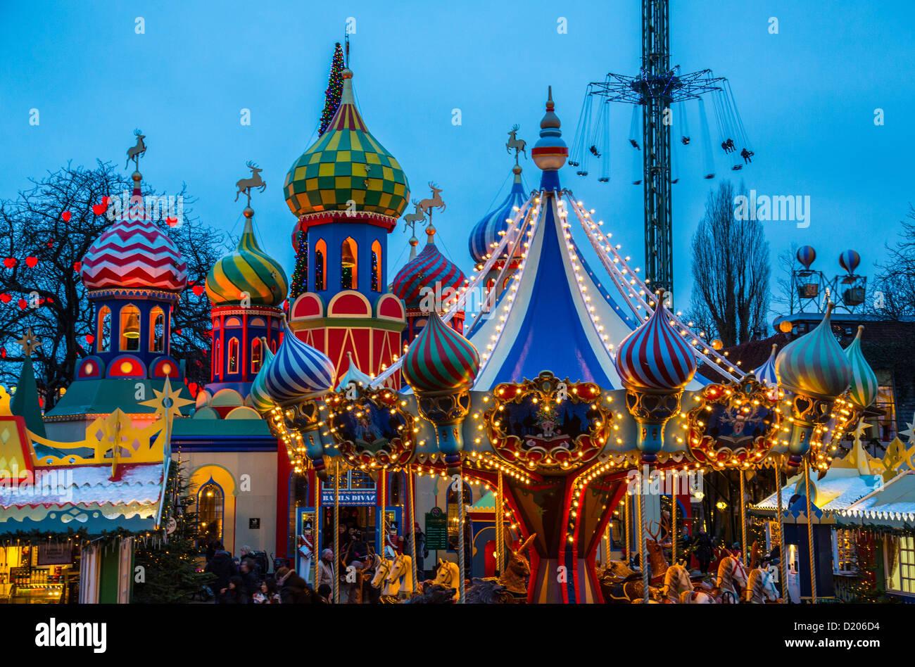 Tivoli amusement park fun park city center christmas for Amusement park decoration ideas