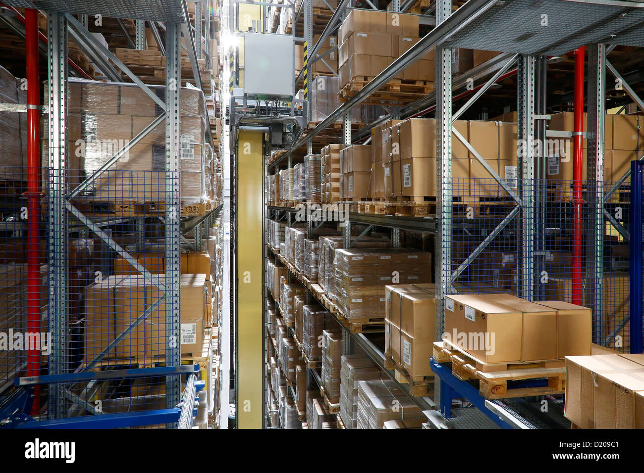 ikea distribution Ikea distribution services have three warehouses in jönköping and in one of  them a lighting upgrade has commenced the warehouse, with its 93,000 m2,.