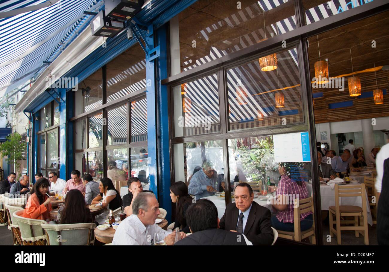 Contramar Restaurant Mexico City