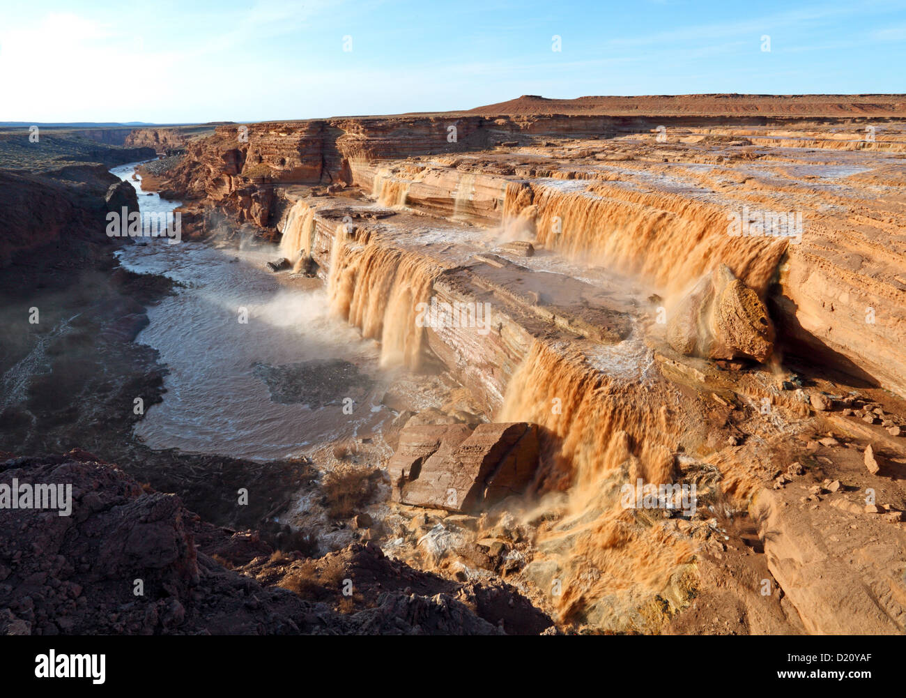 Arizona coconino county leupp - Grand Falls Of Little Colorado River Leupp Az Usa