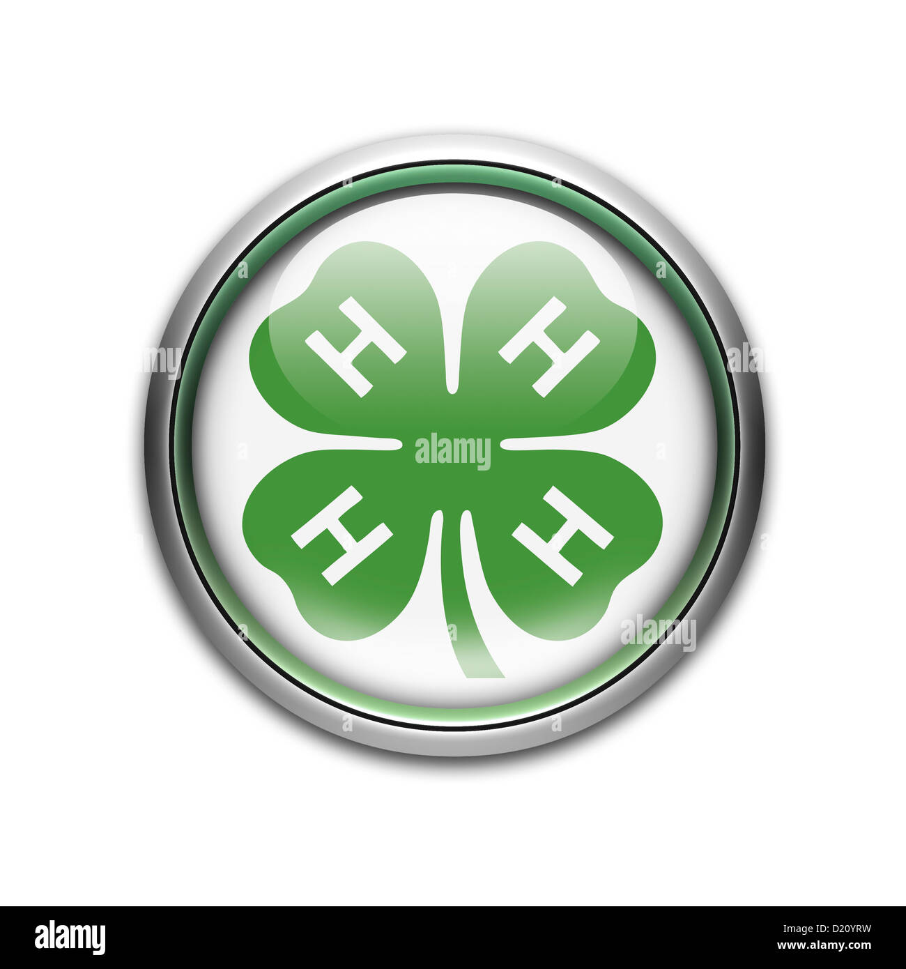 4 H Club Logo Symbol Icon Flag Stock Photo, Royalty Free Image ...