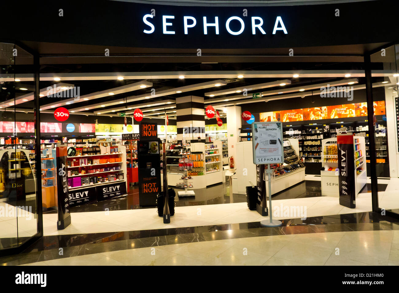 Sephora shop Stock Photo, Royalty Free Image: 52896256 - Alamy
