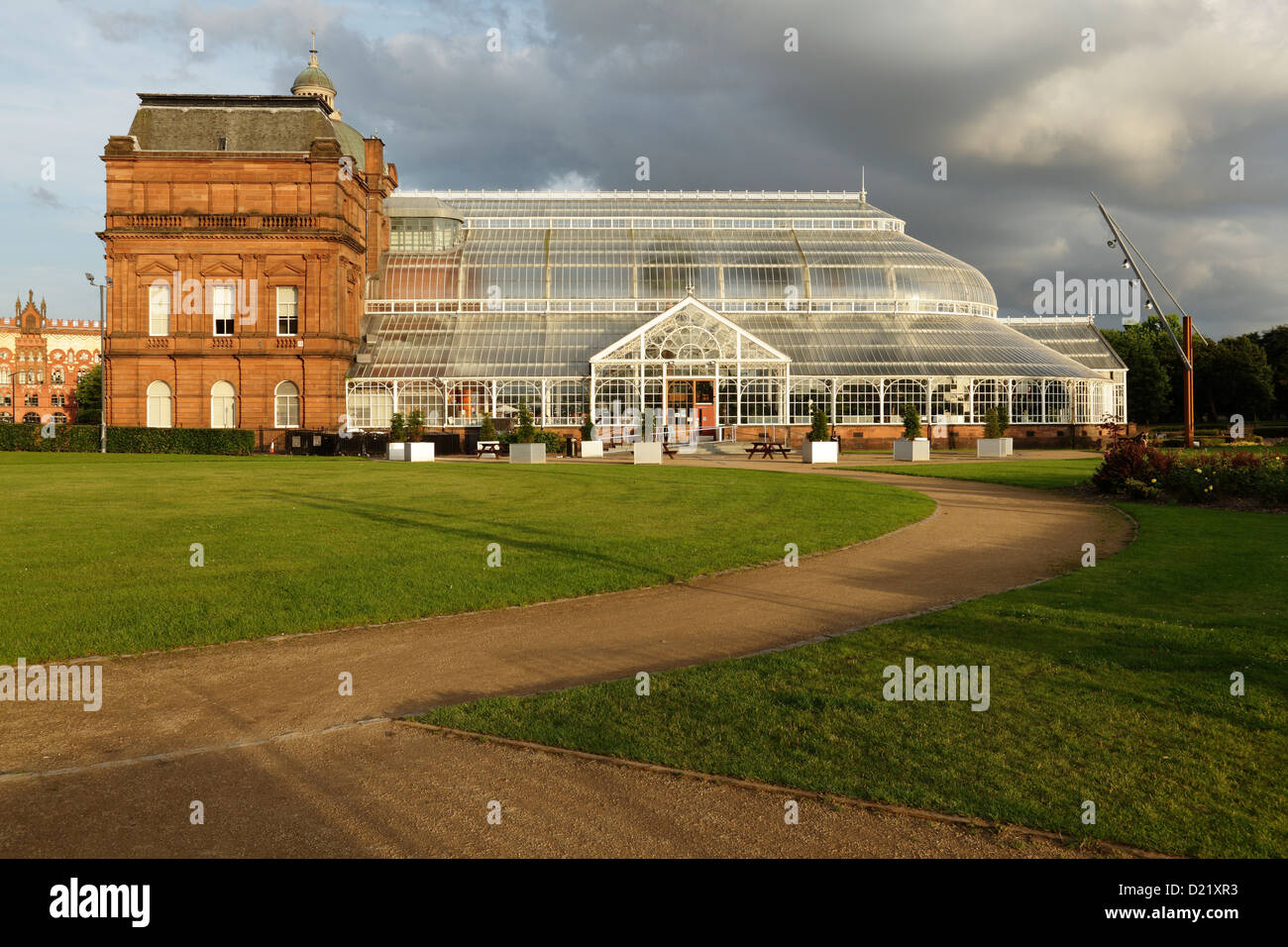 the victorian winter gardens attached to the people u0027s palace
