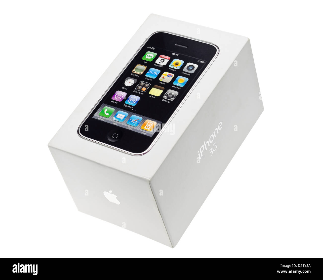 Apple Iphone 3G Box Stock Photo Royalty Free Image 52903630