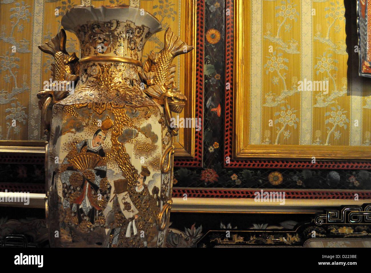 Valencia, Spain: Museo Nacional de Cerámica y Artes Suntuarias Stock Photo, R...