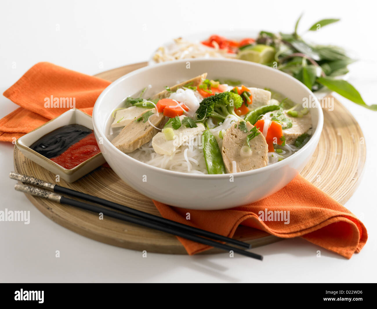 seitan noodle soup thai seitan noodle soup buddhist s delight lime in ...