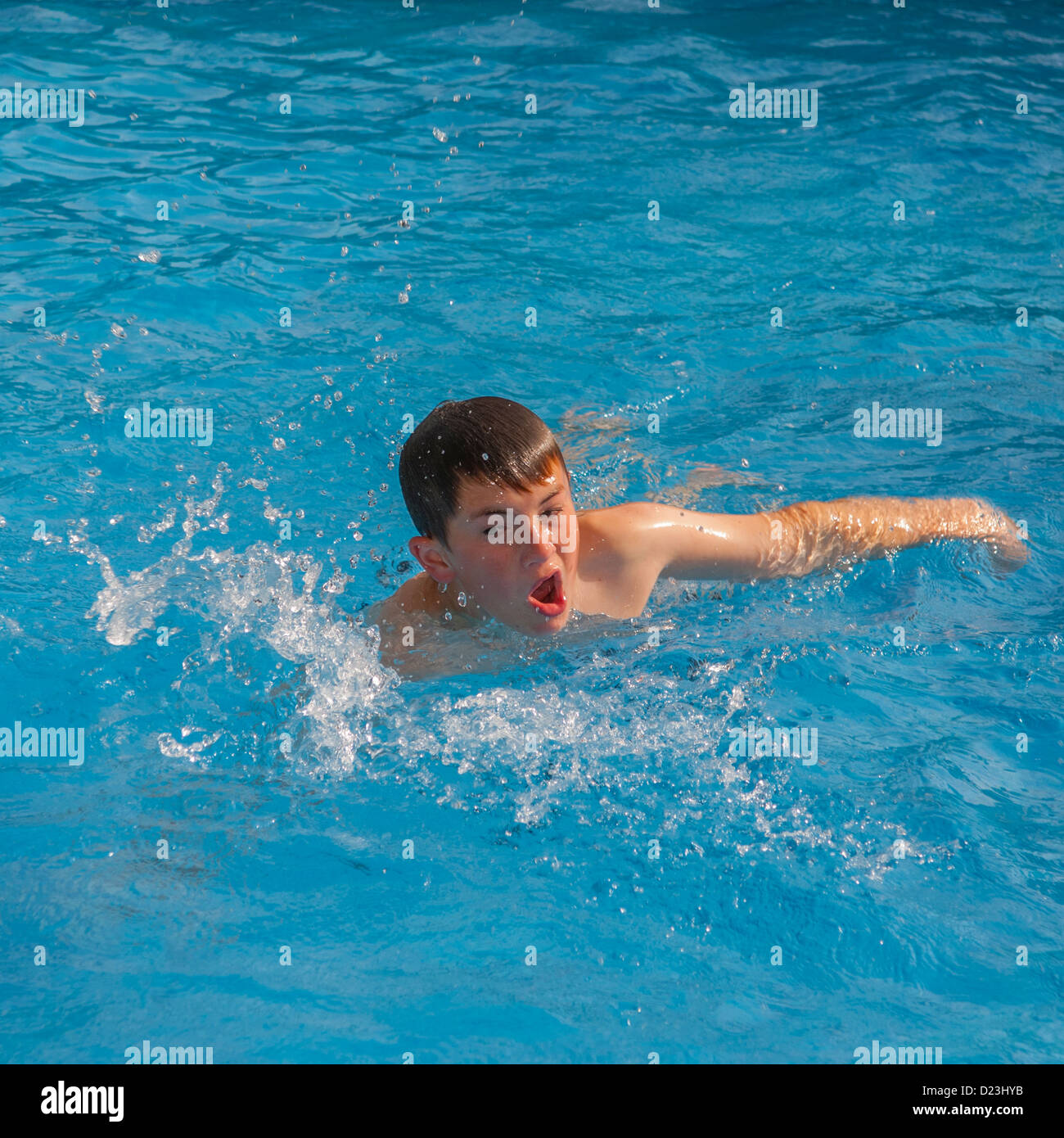 Boy swimming images for What to do with old swimming pool