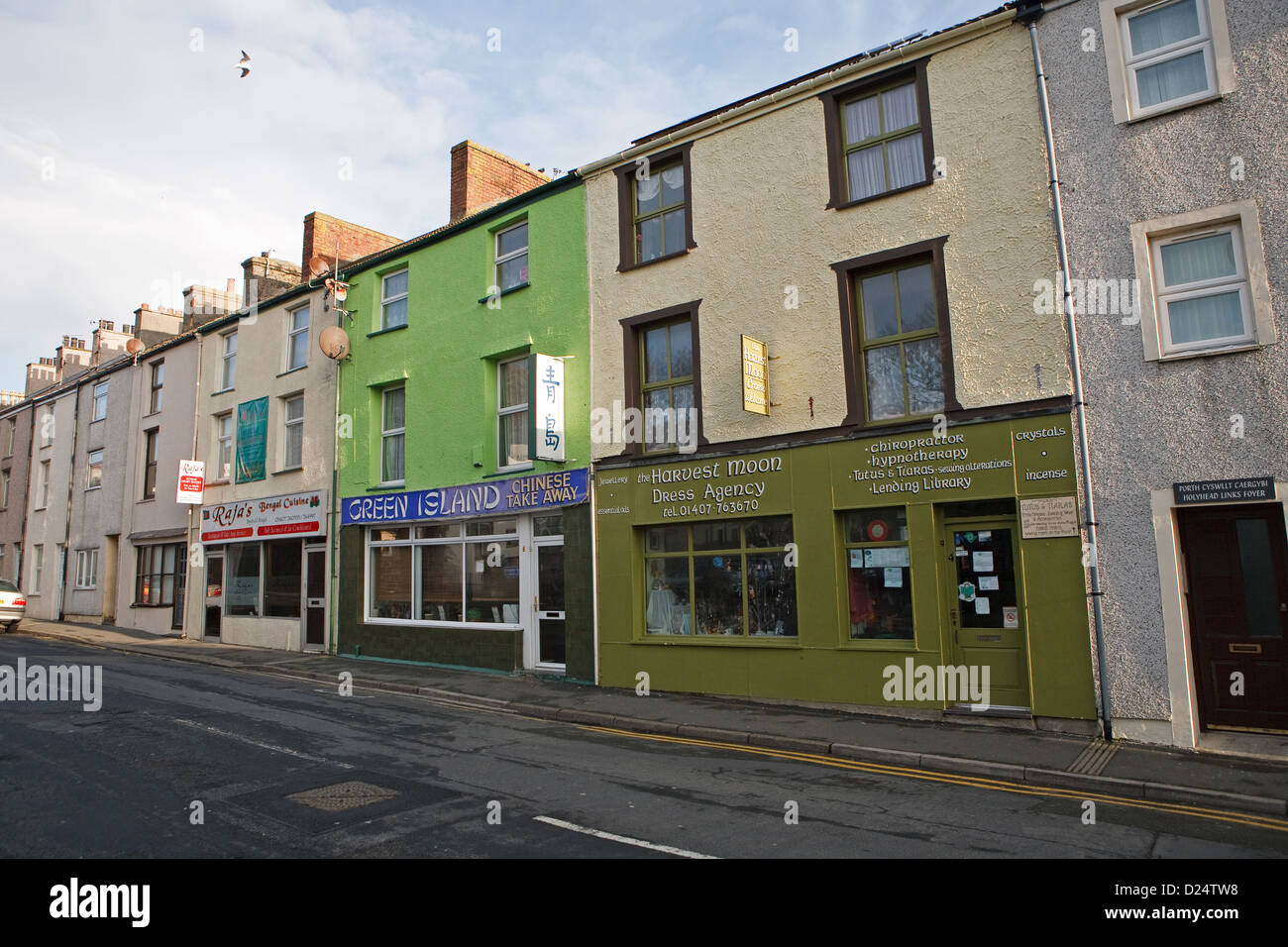 The dress agency - Harvest Moon Dress Agency Green Island Chinese Takeaway And Rajas Bengal Cuisine In Newry Street In Holyhead Wales
