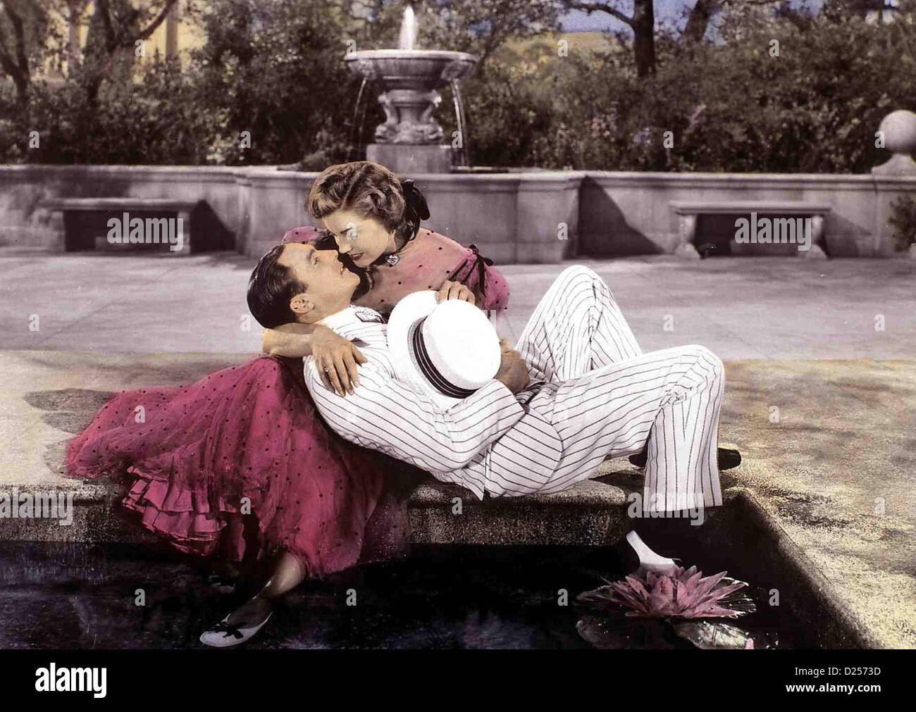 spiel zu dritt take me out to ball game gene kelly esther williams stock photo royalty free. Black Bedroom Furniture Sets. Home Design Ideas