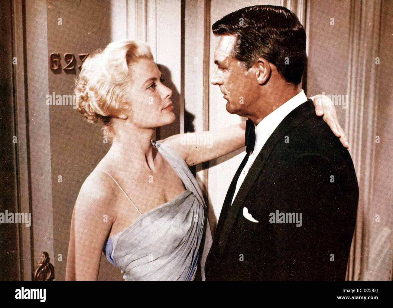 ueber den daechern von nizza to catch thief grace kelly cary grant stock photo 52988618 alamy. Black Bedroom Furniture Sets. Home Design Ideas