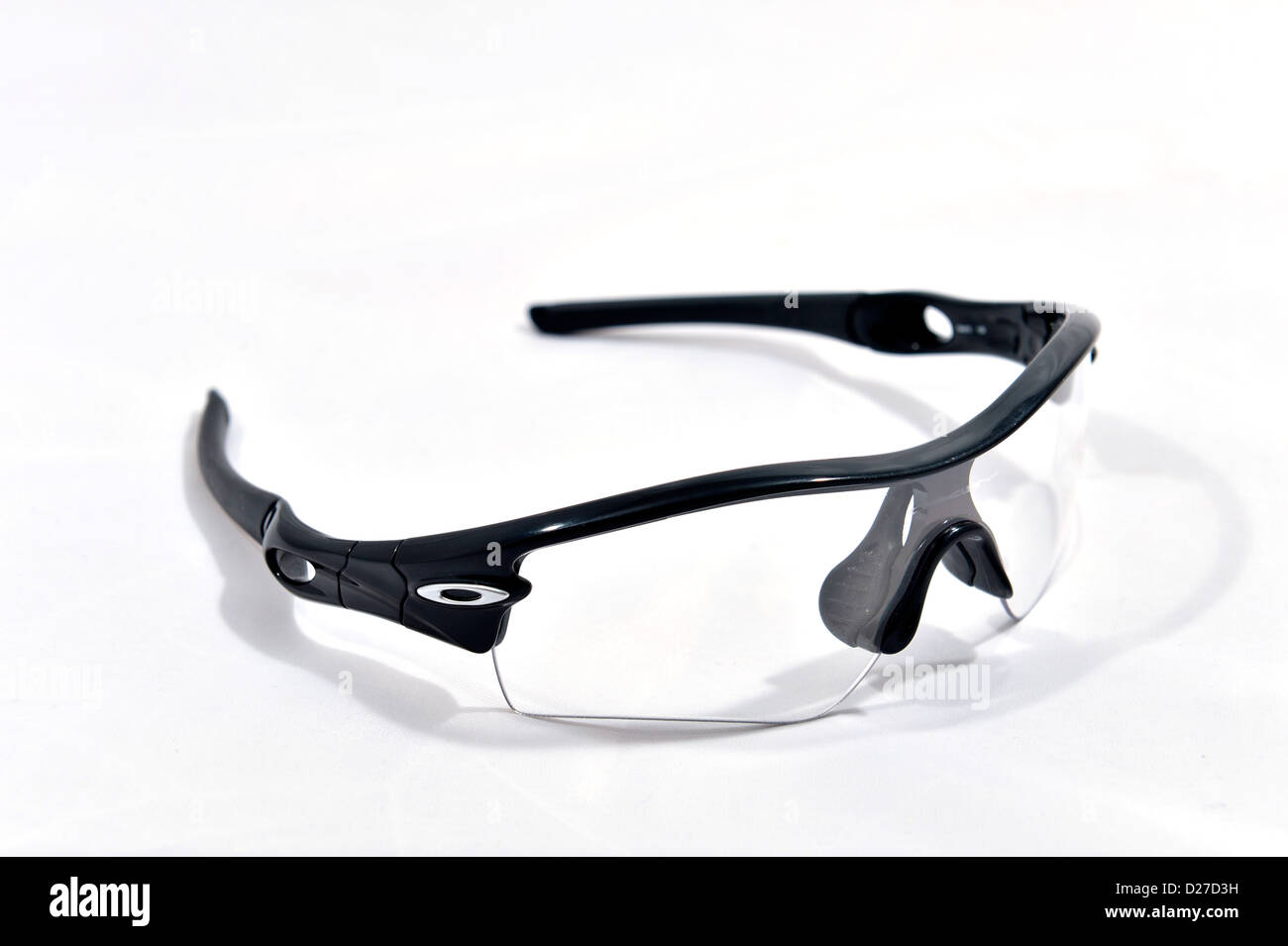 oakley sports glasses 0a7z  Oakley Radar Path professional sport glasses Stock Photo
