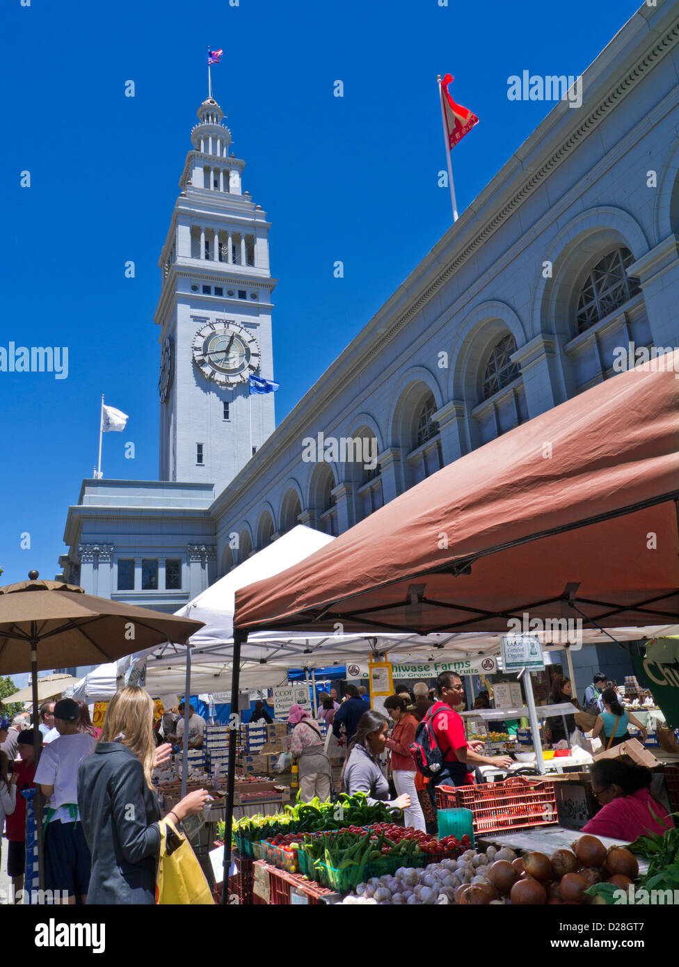 Embarcadero Ferry Building Farmer S Market