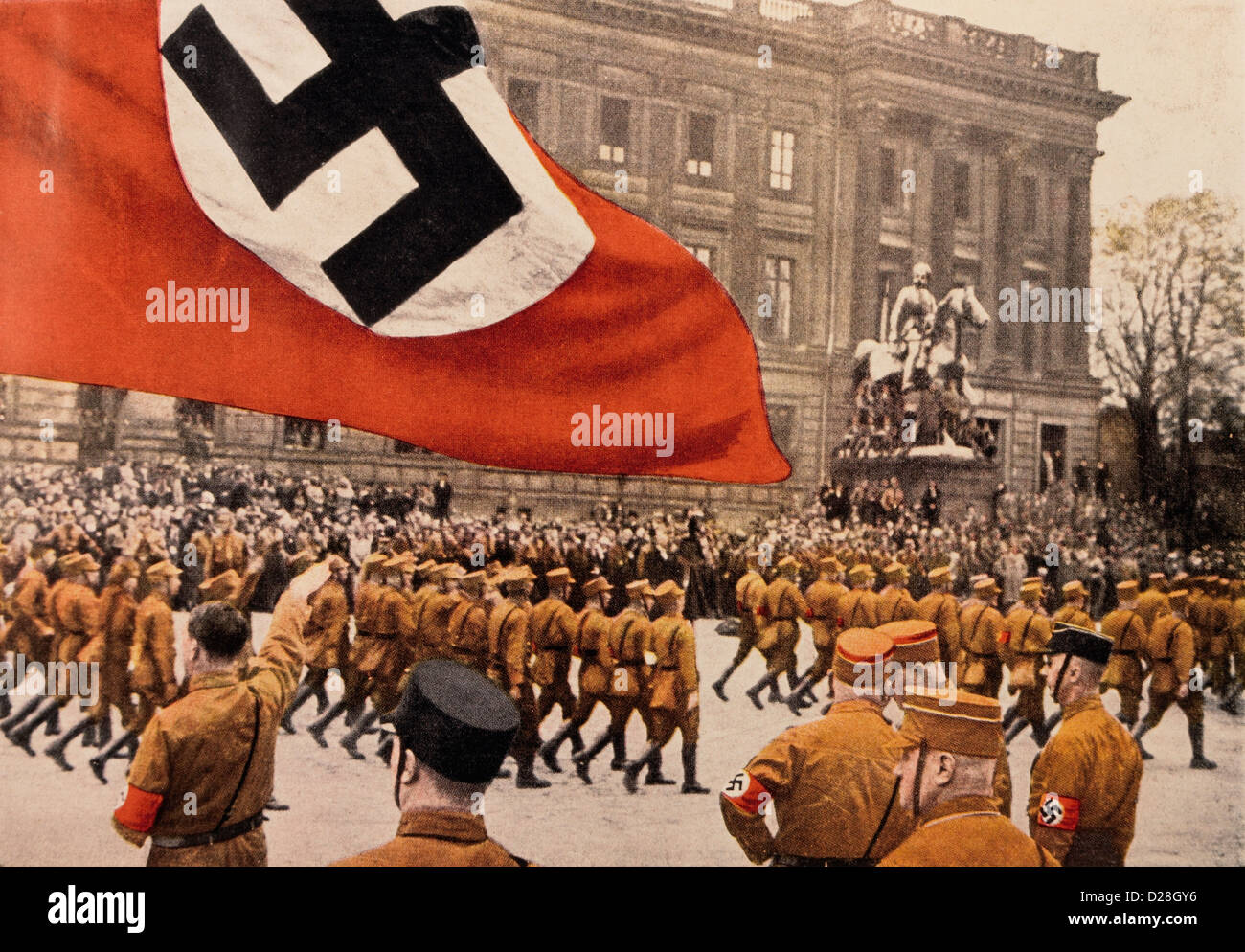 nazi germany and adolf hitler Adolf hitler was an austrian-born german politician and the leader of the nazi  party he was chancellor of germany from 1933 to 1945 and dictator of nazi.