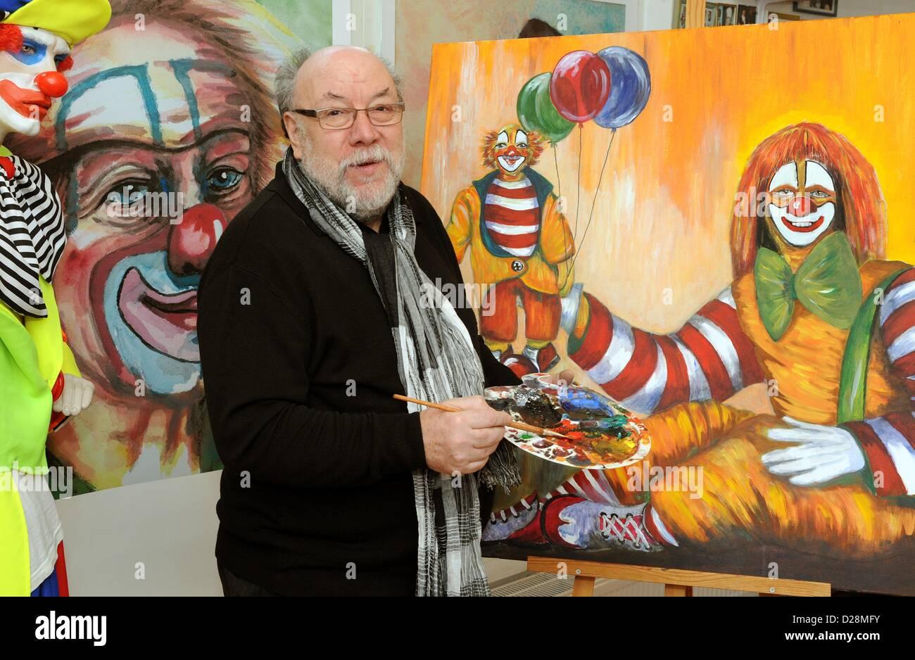 collector of clown memorabilia and director of the u0027clownmuseum
