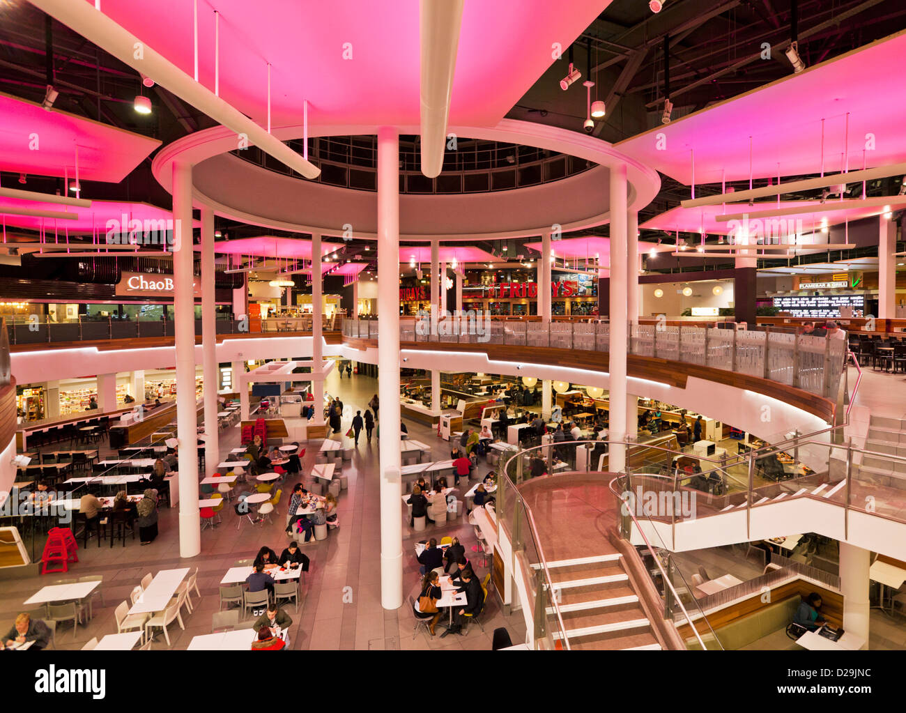 Oasis Food Court Meadowhall