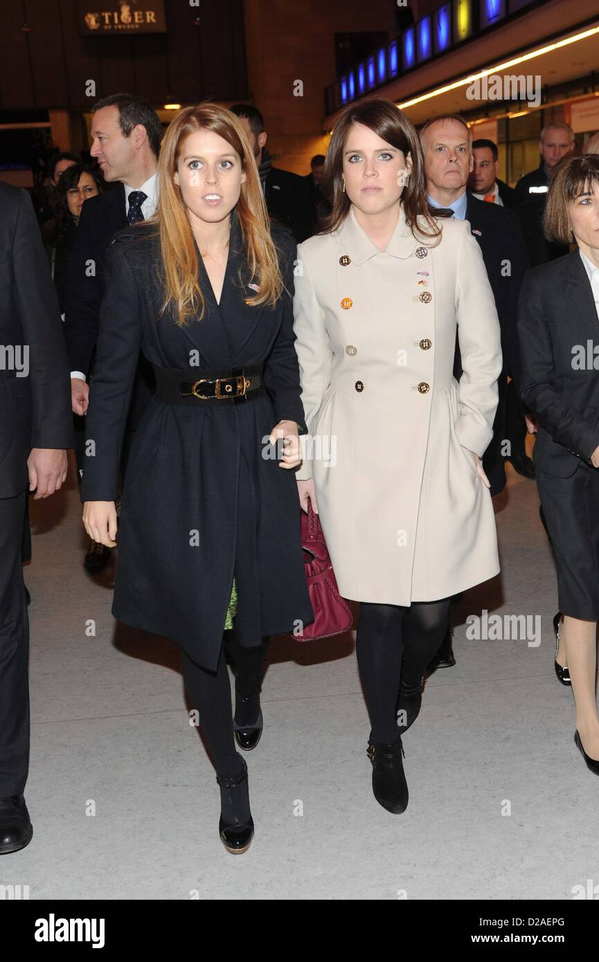 Hrh Princess Beatrice Of York Hrh Princess Eugenie Of
