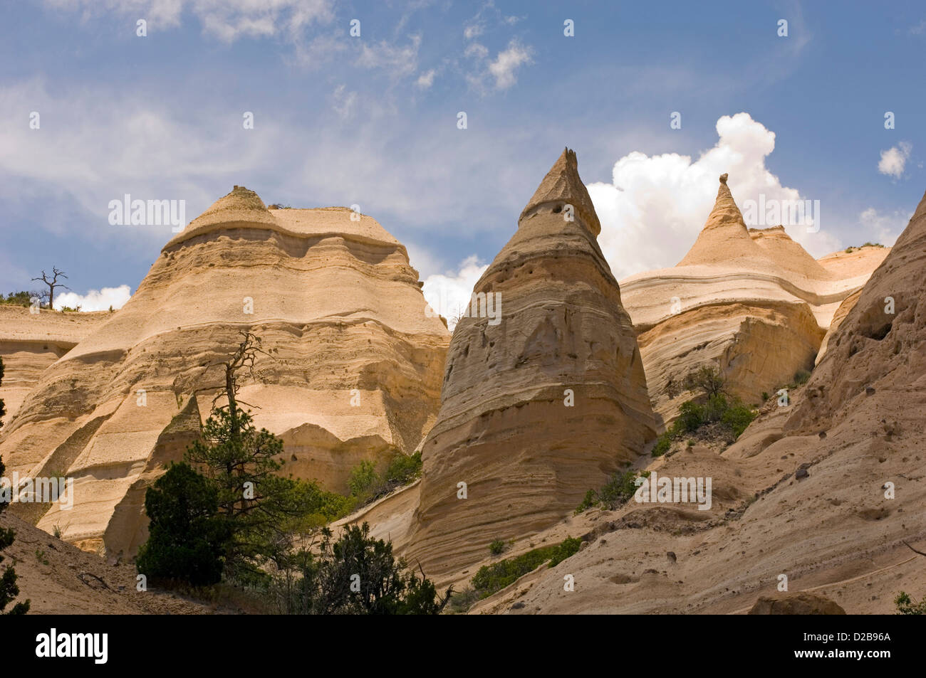 Kasha-Katuwe Tent Rocks National Monument New Mexico Was Designated National Monument In January 17 2001 Cone Shaped Tent Rock & Kasha-Katuwe Tent Rocks National Monument New Mexico Was ...