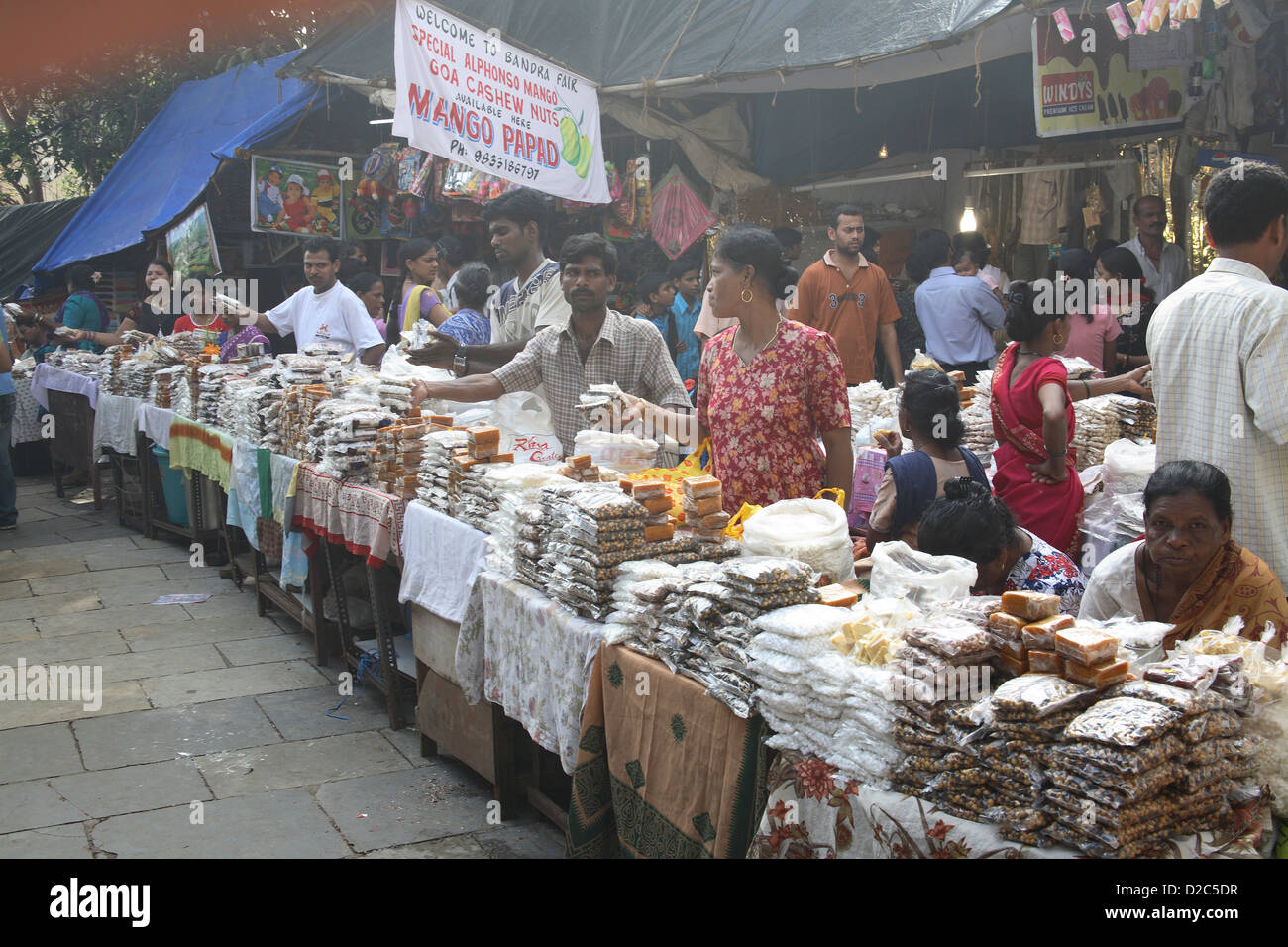 Various Stalls Outside Mount Mary Church, Mount Mary ...
