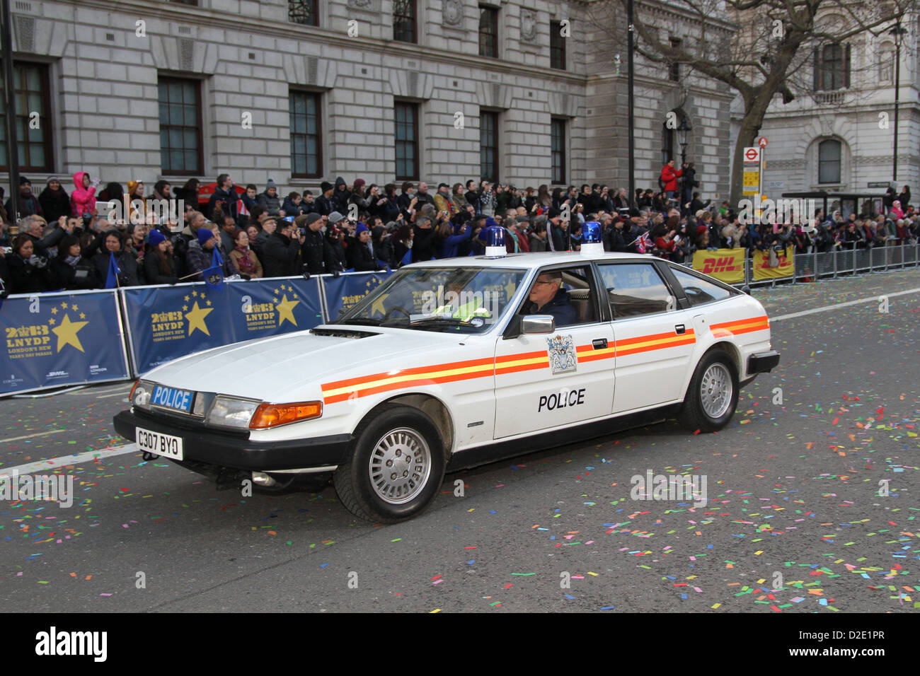 Rover SD1 from 1986 at the 2013 New Years day Parade in London ...