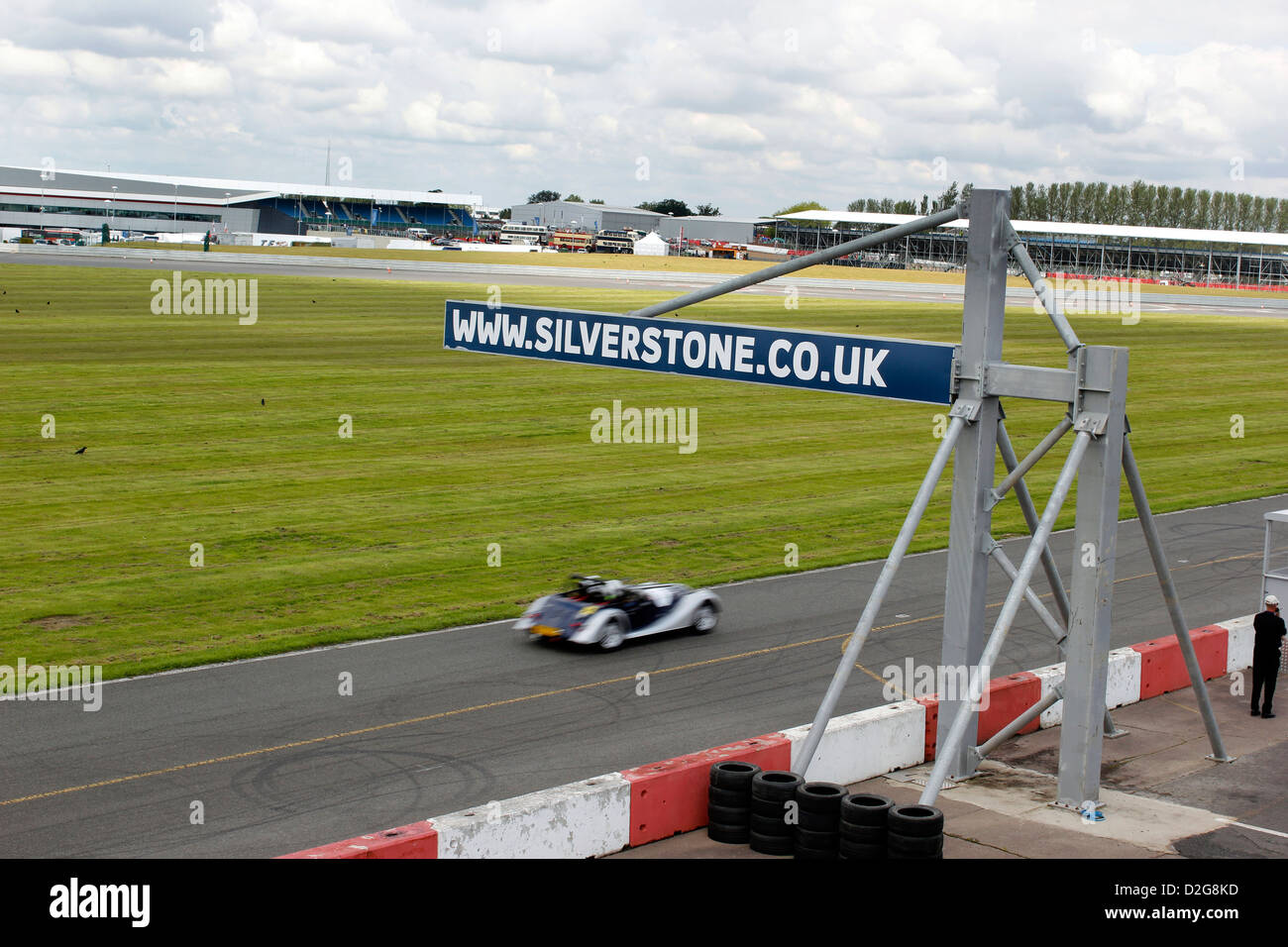 Silverstone Classic Cars Event July Stock Photo Royalty Free