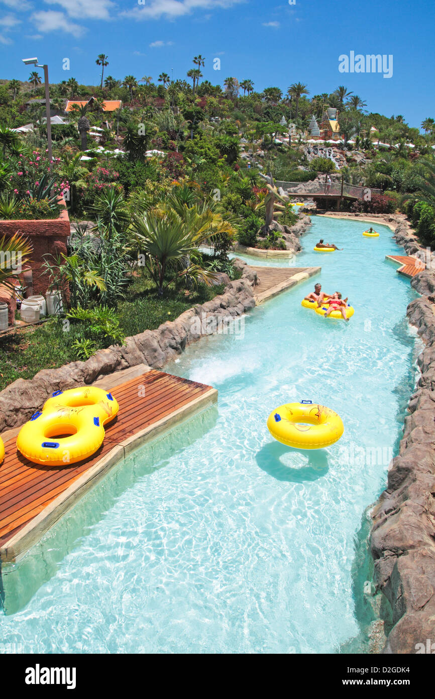 Water Park Named SIAM PARK Located In Tenerife Island Spain Stock - Where is spain located