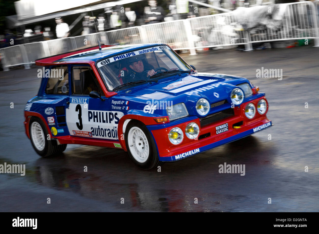 1985 renault 5 maxi turbo with driver jean ragnotti in the paddock at stock photo 53228794 alamy. Black Bedroom Furniture Sets. Home Design Ideas