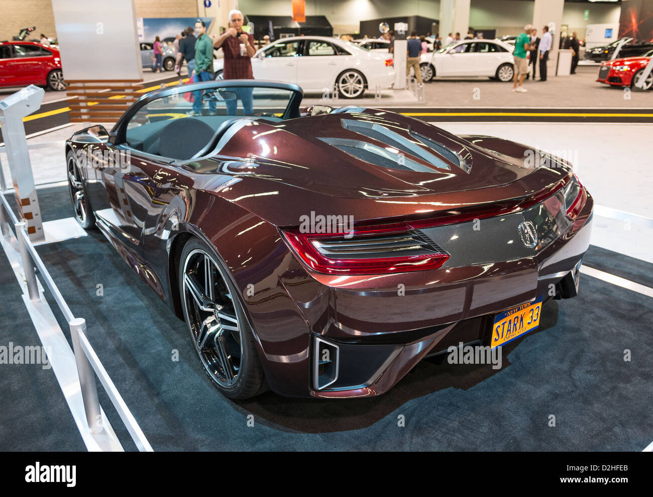 The Acura NSX Concept Convertible At The Orange County International Auto  Show