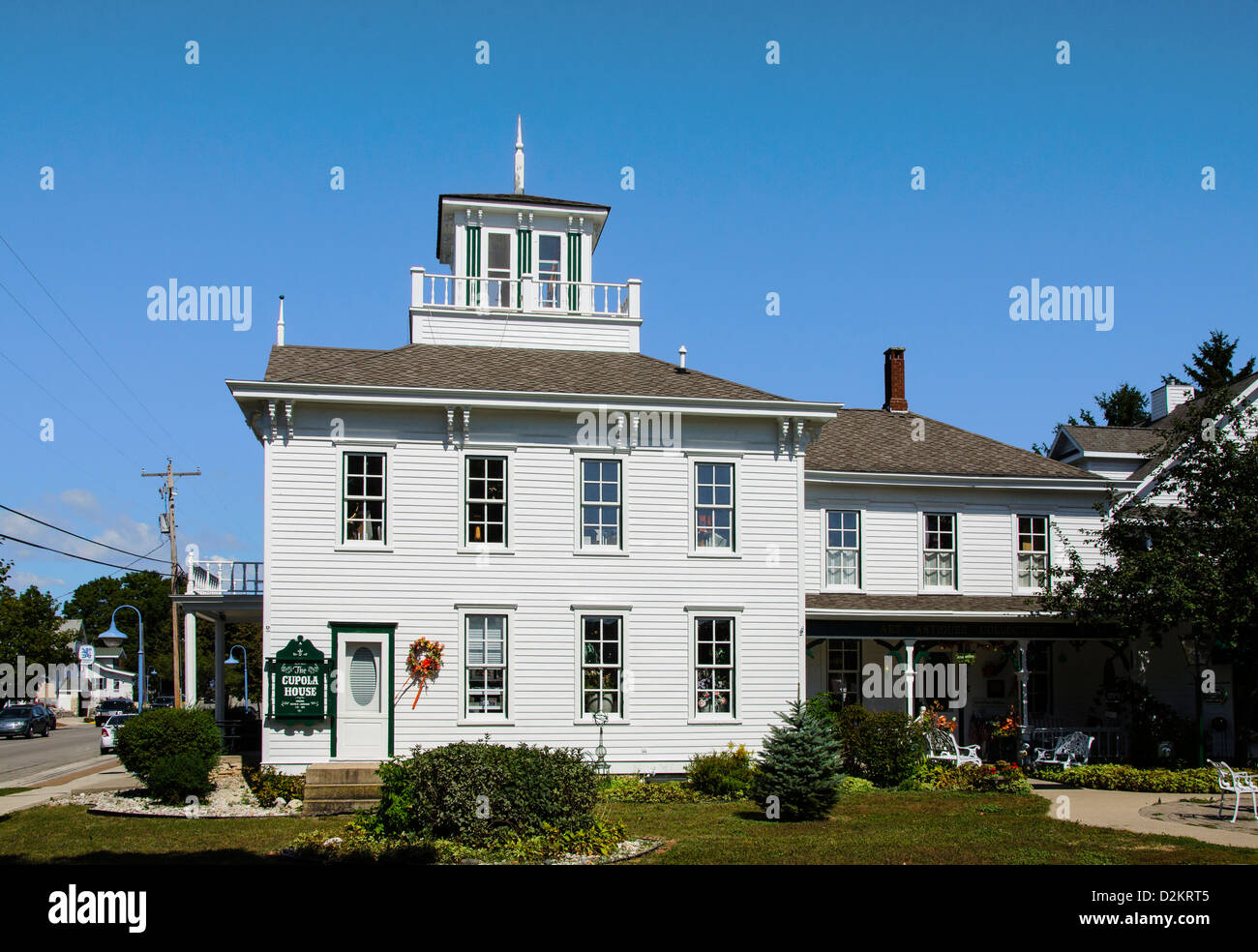 good cupola house #10: The Cupola House in the Door County town of Egg Harbor, Wisconsin