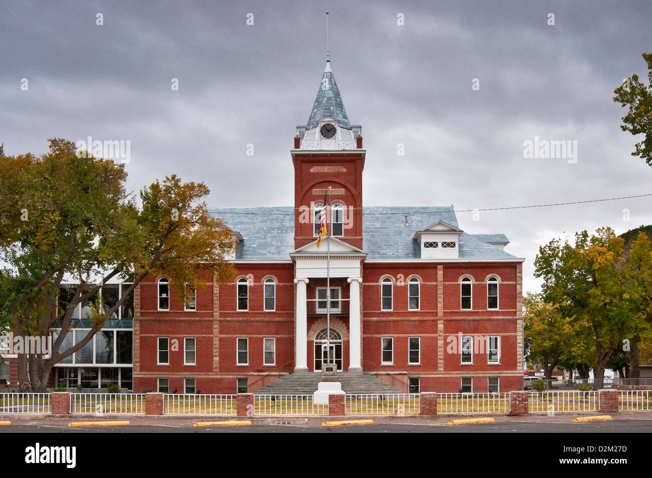 New mexico luna county columbus -  Columbus Sub Station Luna County Courthouse In Deming New Mexico Usa Stock Photo