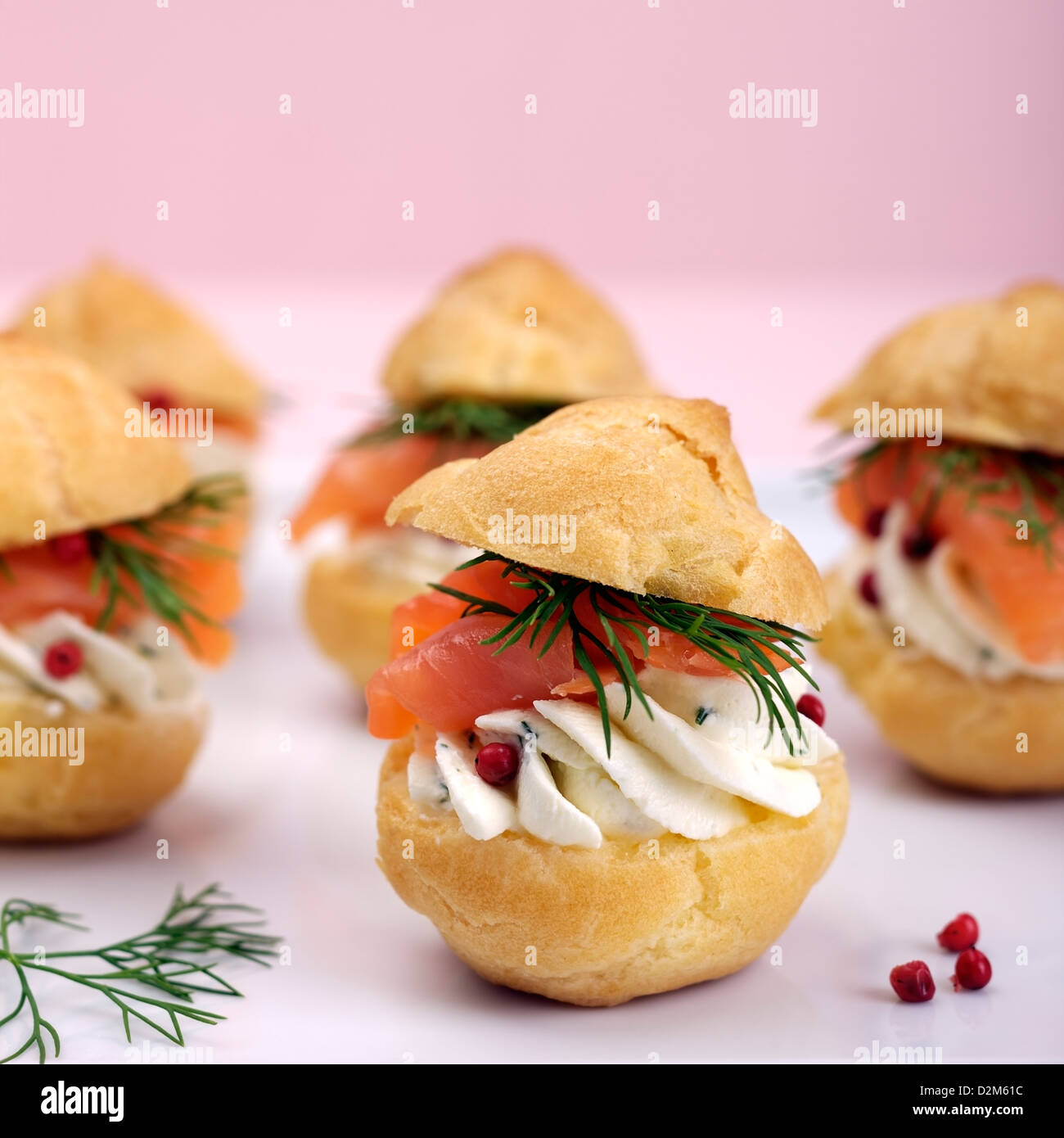 Savoury choux pastry canapes for Pastry canape fillings
