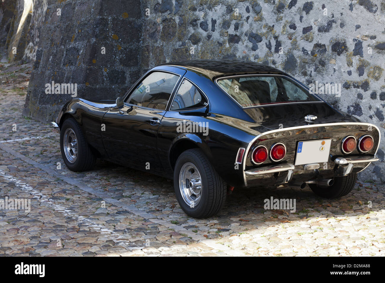 Old German classic Sport Car Opel GT Stock Photo, Royalty Free ...