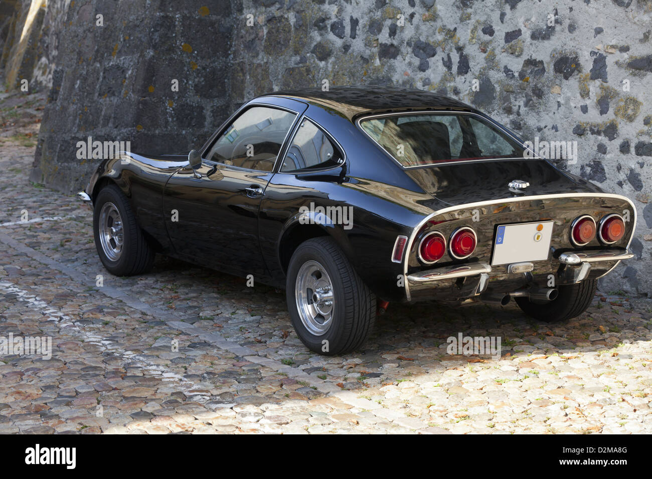 old german classic sport car opel gt stock photo royalty free image 53307536 alamy. Black Bedroom Furniture Sets. Home Design Ideas