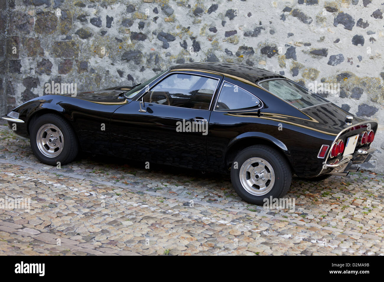 old german classic sport car opel gt stock photo royalty free image 53307559 alamy. Black Bedroom Furniture Sets. Home Design Ideas
