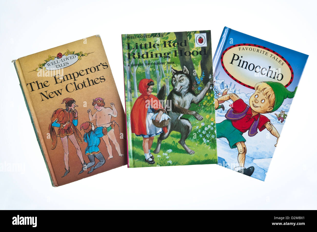 Three Traditional Fairy Tale Stories Published By Ladybird