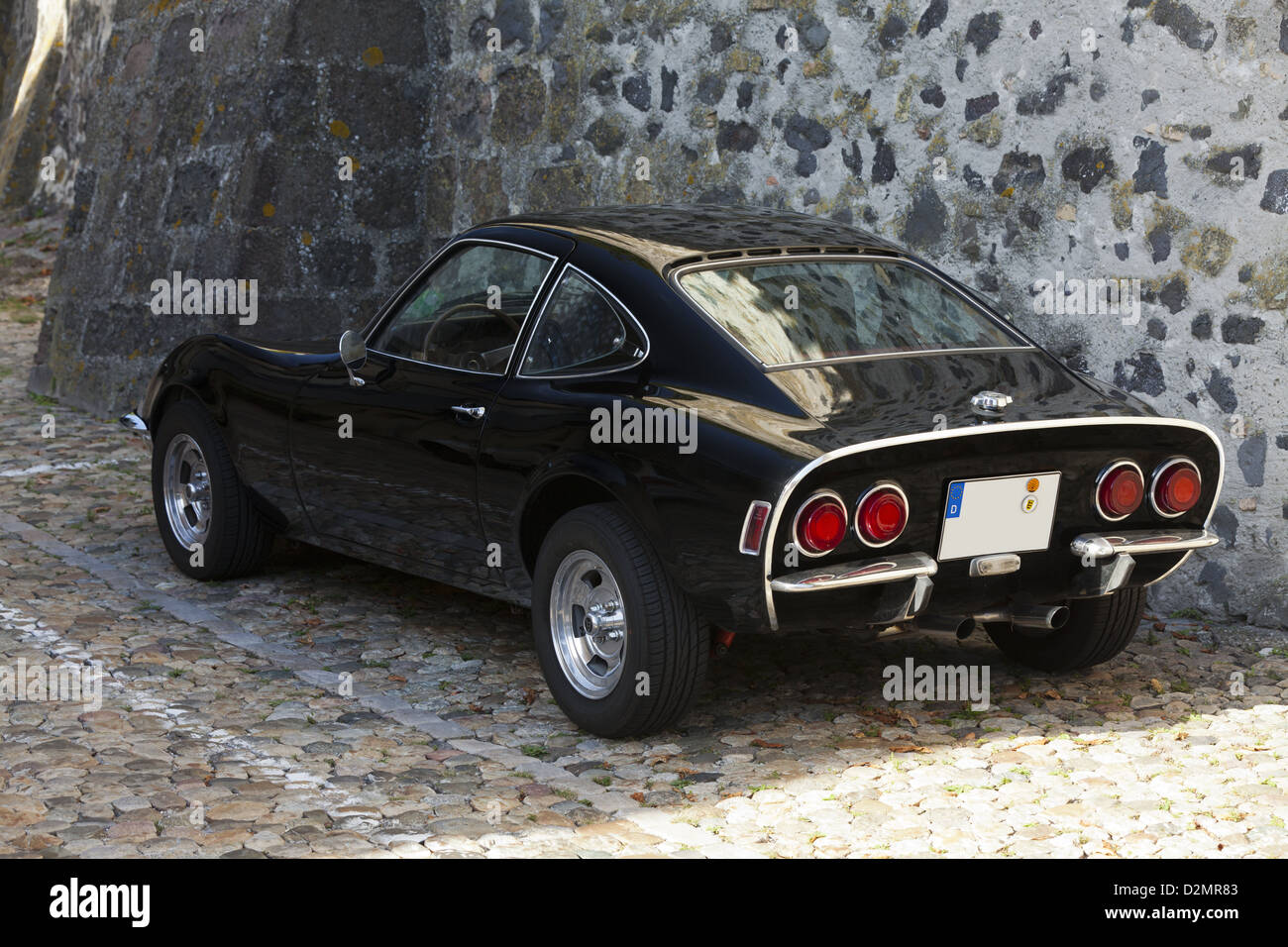 Old German classic Sport Car Opel GT Stock Photo: 53317715 - Alamy