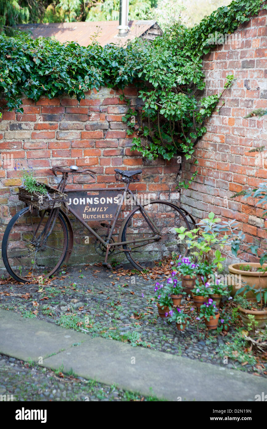 Bike As Garden Ornament