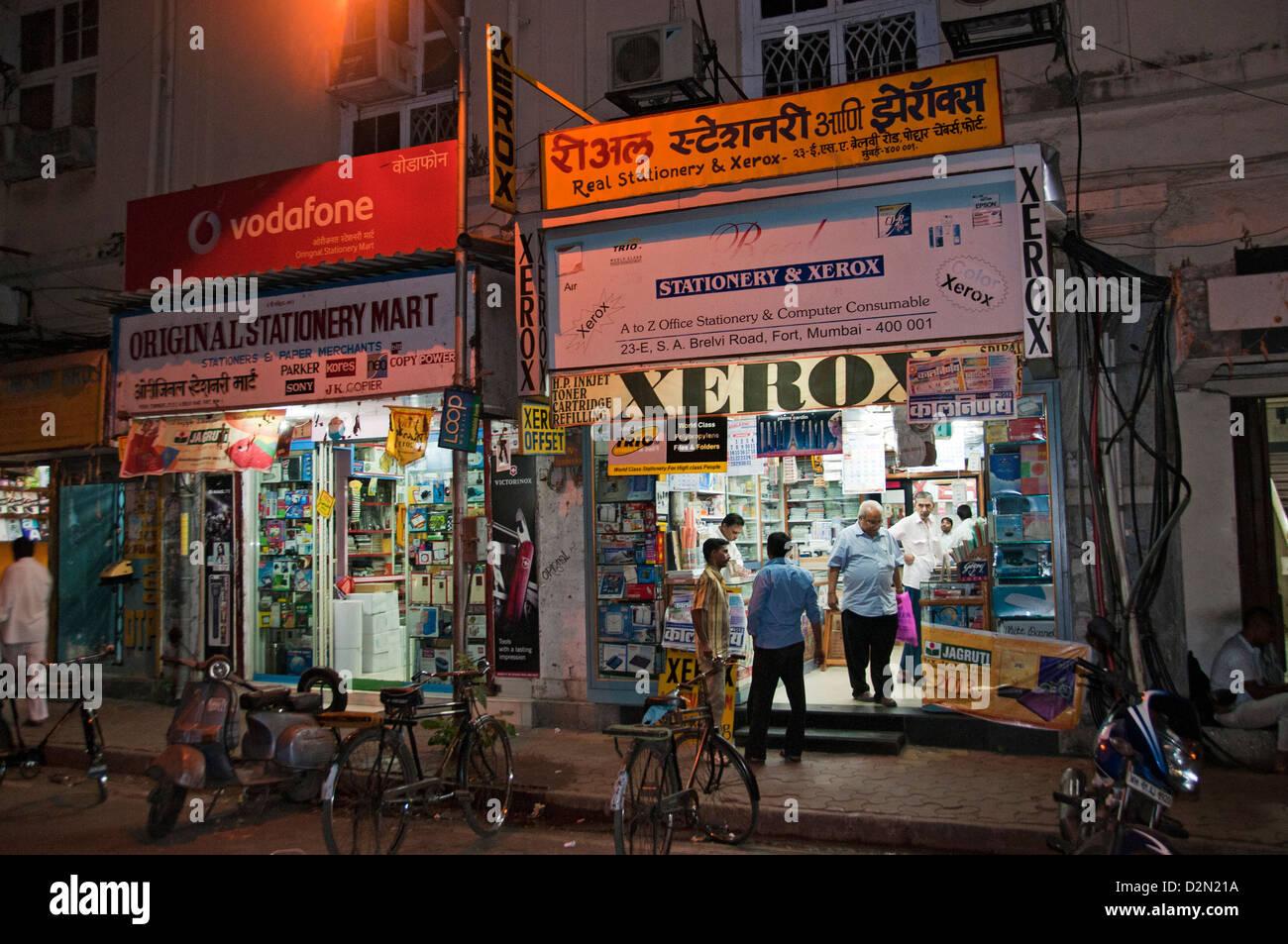Mumbai ( Bombay ) India Copy Shop Xerox  Stock Image