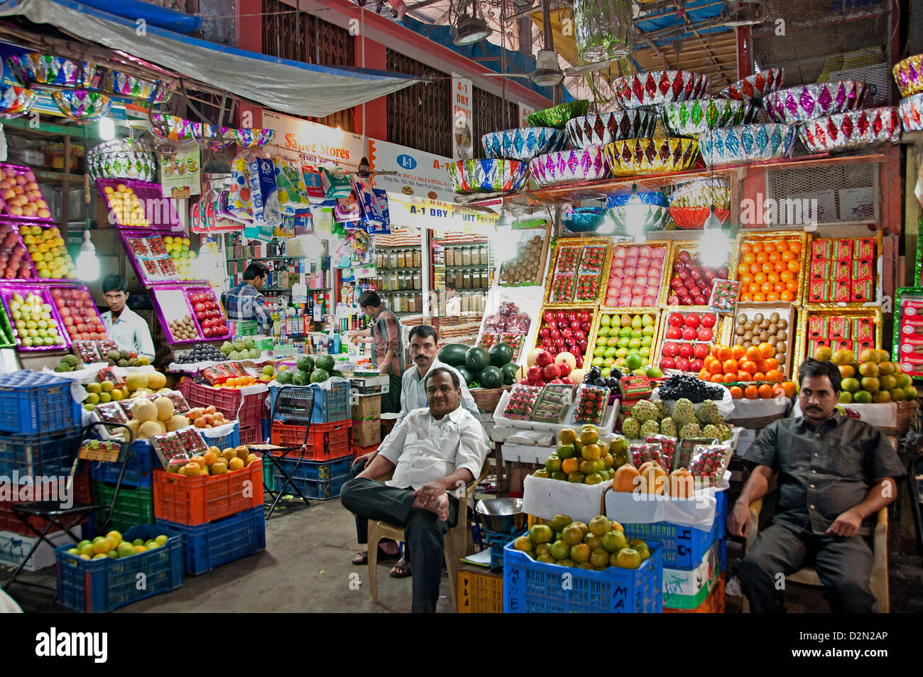Mumbai bombay india crawford market greengrocer fruits for City indian dining ltd t a spice trader