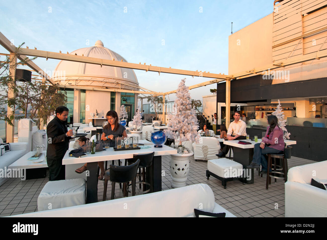 Dome bar cafe pub rooftop terrace seafront promenade for Terrace 6 pub indore
