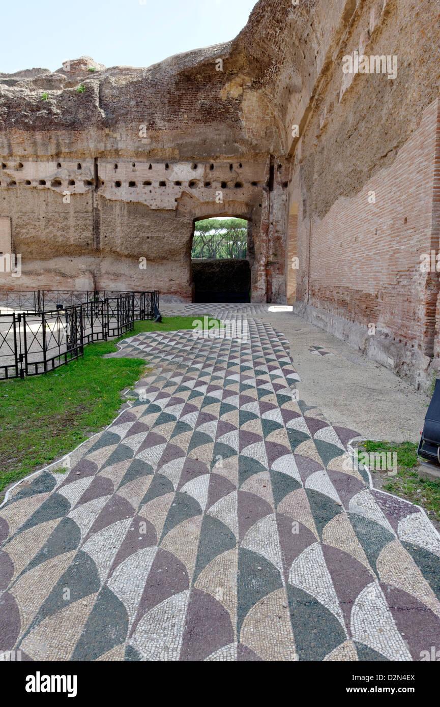 The Baths Of Caracalla (Terme Di Caracalla), The Ancient