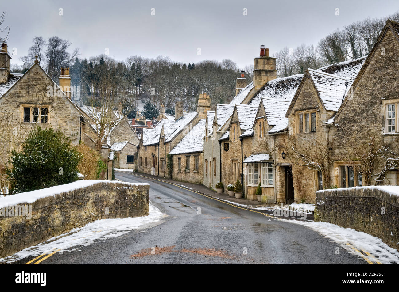 snowy english village wallpaper - photo #37