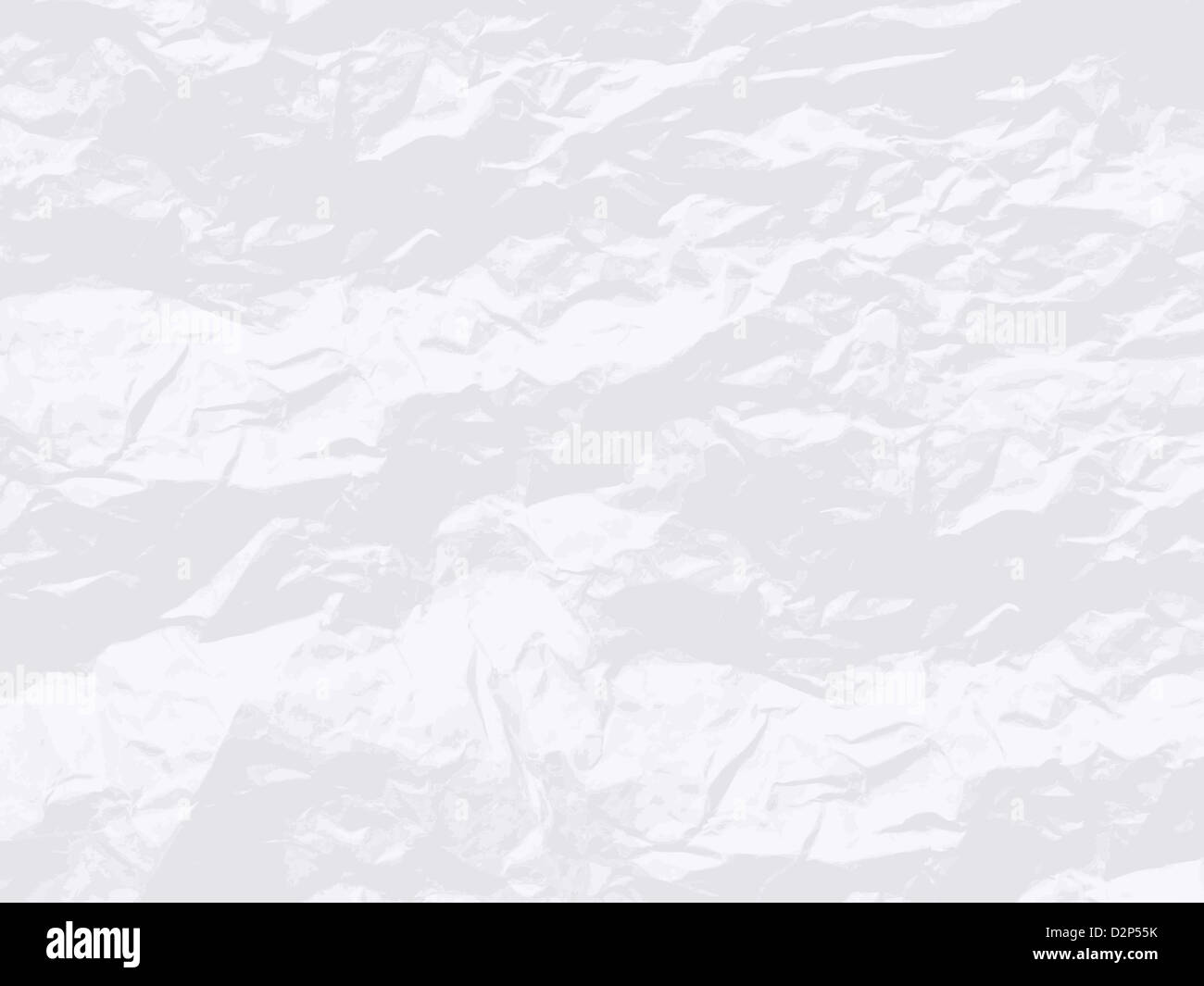 Blank White Crumpled Paper. Vector Texture Background ...
